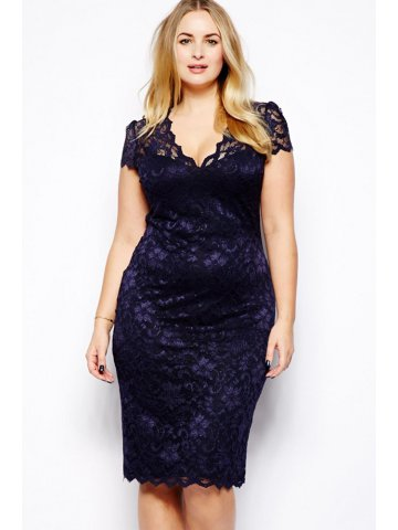 https://static1.cilory.com/117027-thickbox_default/navy-blue-scalloped-v-neck-lace-plus-size-midi-dress.jpg