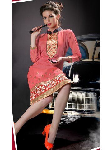https://static5.cilory.com/130125-thickbox_default/watermelon-sunset-orange-party-wear-kurti.jpg