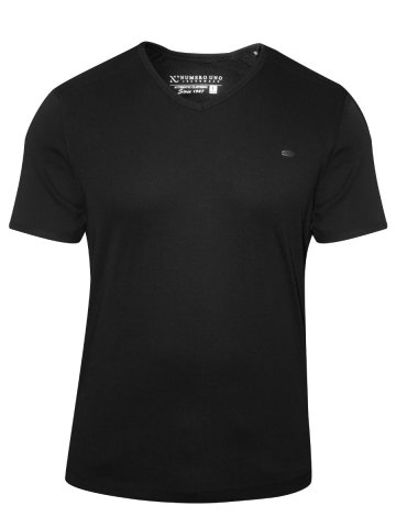 Numero Uno Black V Neck T Shirt at cilory