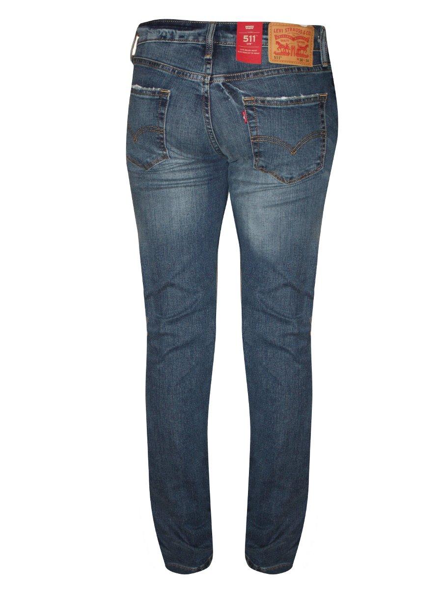 levis 511 slim stretch blue men 39 s jeans 18298 0134. Black Bedroom Furniture Sets. Home Design Ideas