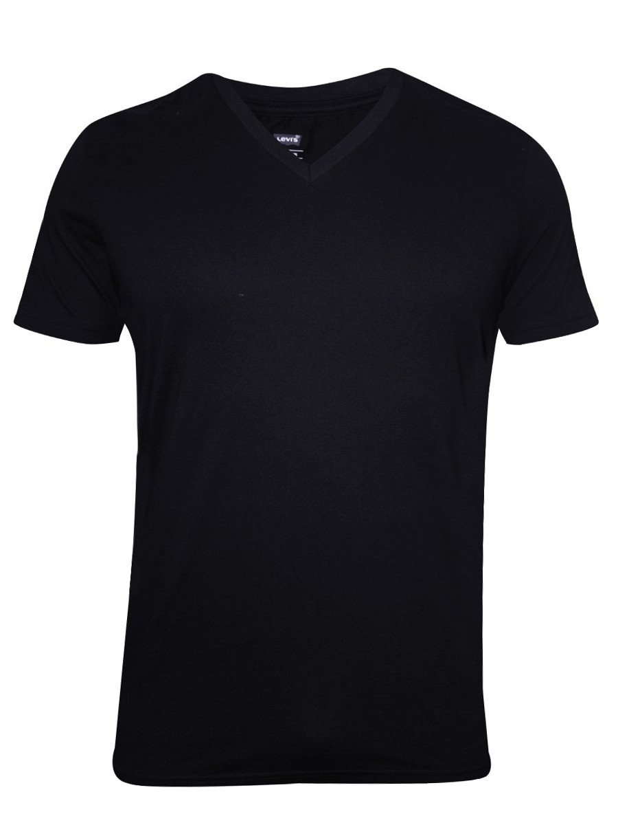 Levis black v neck t shirt 17076 0006 for V neck black t shirt