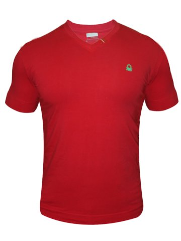 Undercolors of Benetton V Neck T-Shirt at cilory