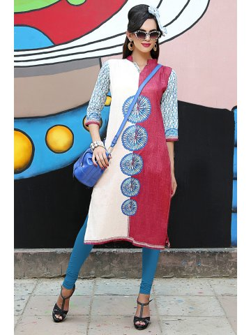 https://static4.cilory.com/198439-thickbox_default/spirit-maroon-beige-cotton-printed-kurti.jpg