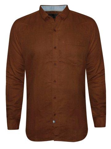 https://d38jde2cfwaolo.cloudfront.net/212354-thickbox_default/numero-uno-brown-linen-casual-shirt.jpg