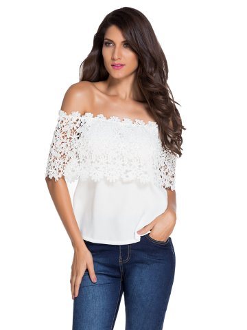 https://static.cilory.com/216065-thickbox_default/white-lace-spliced-off-shoulder-chiffon-top.jpg