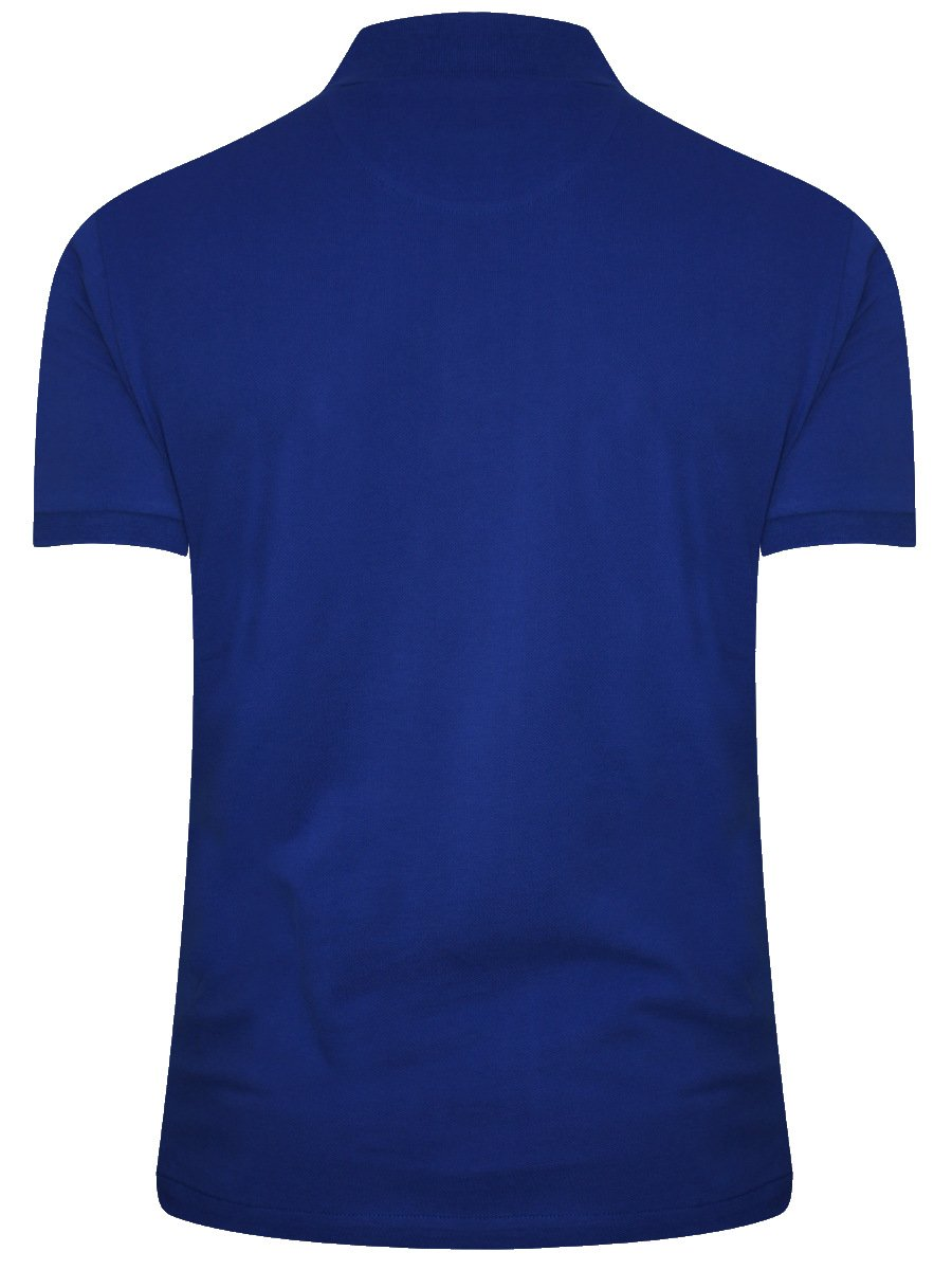 Buy t shirts online arrow indigo blue polo t shirt for Buy t shirts online
