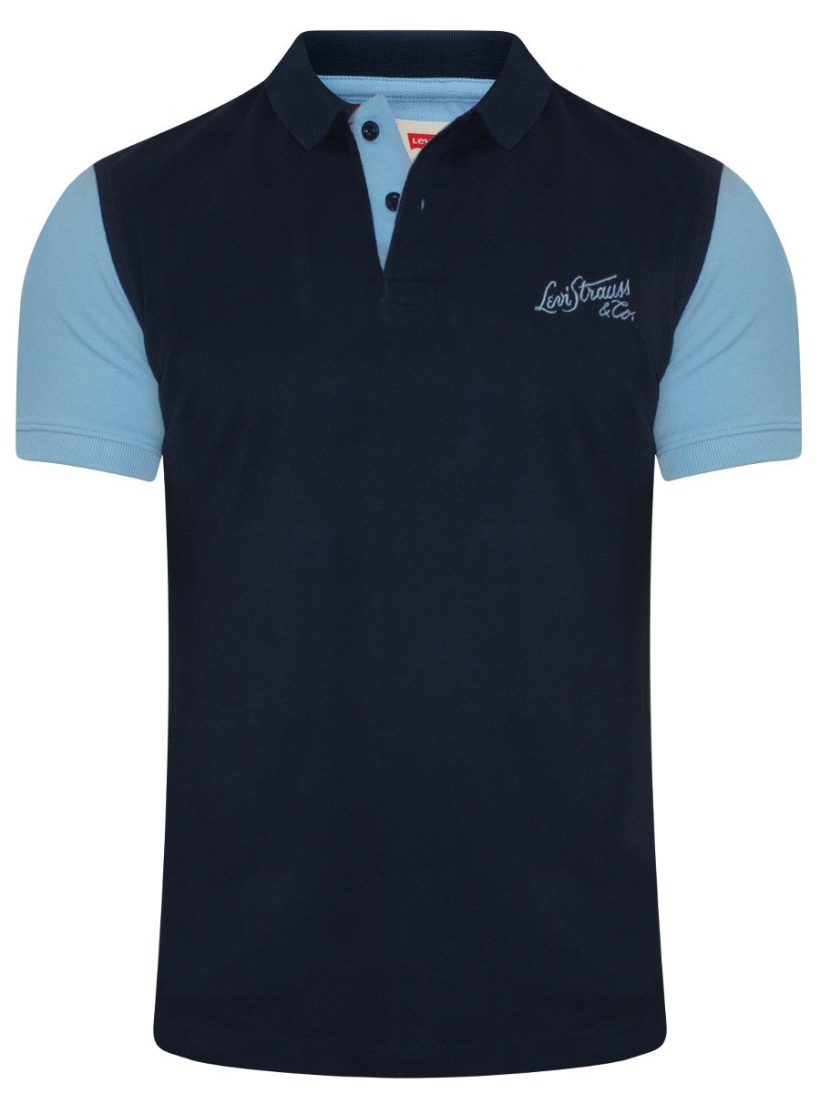 Buy t shirts online levis navy polo t shirt 17474 0020 for Buy t shirts online
