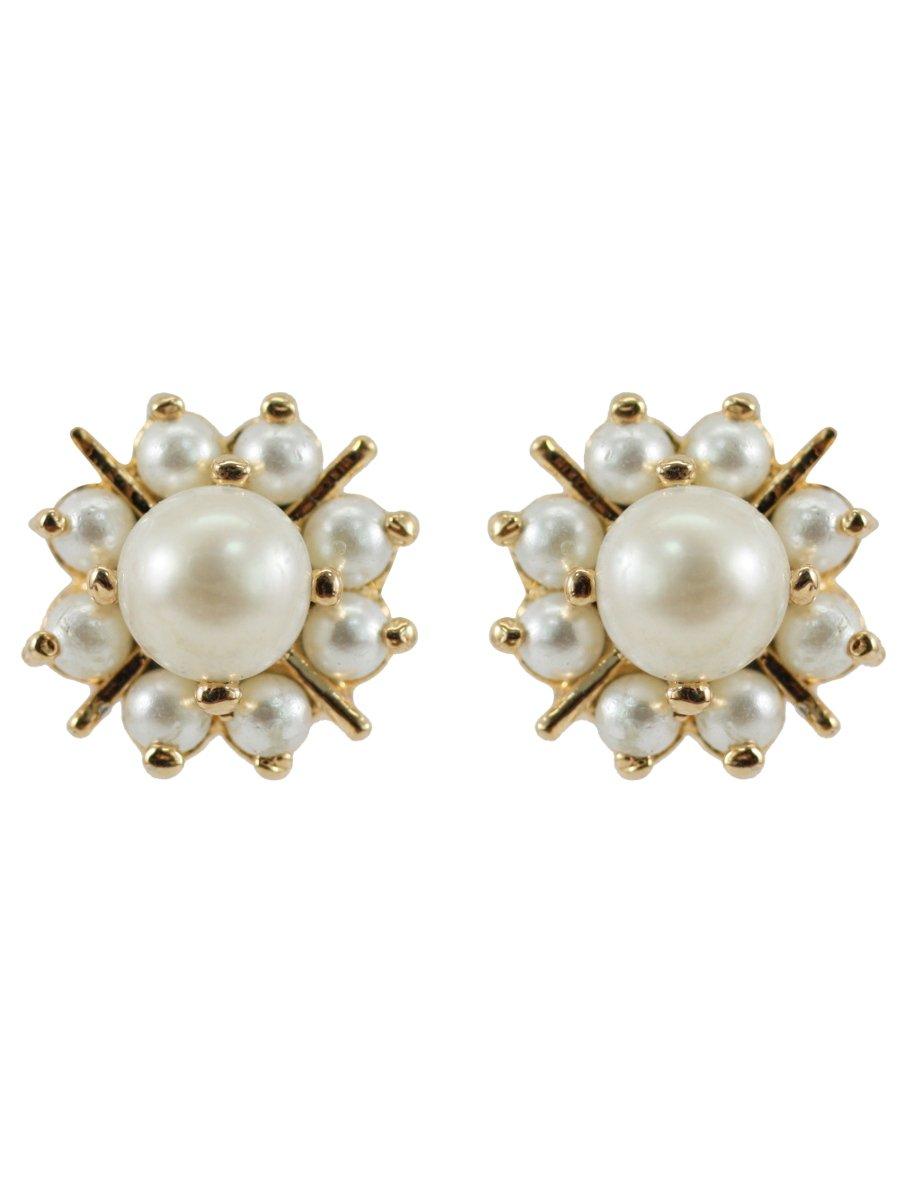 Beautiful Pearl Stone Earrings | D42-st10 | Cilory.com