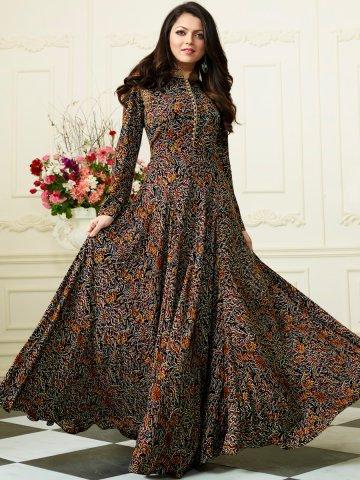 Nitya Multicolor Designer Rayon Cotton Kurti   Nitya-1105   Cilory.com