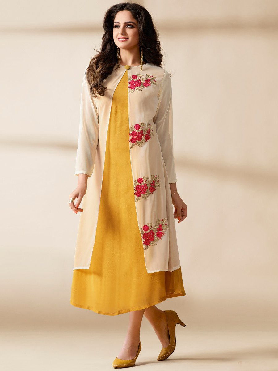 15 Latest and Stylish Indo Western Kurti Designs Styles