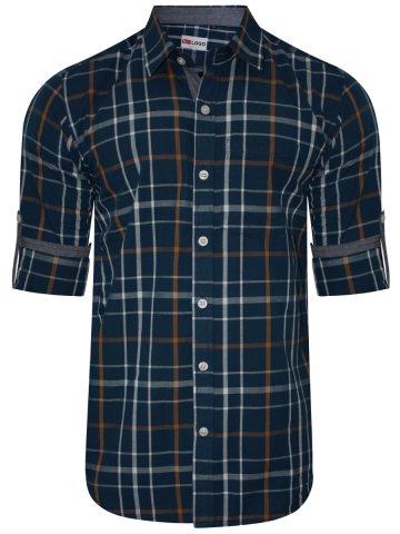 nologo navy casual shirt nologo cs 019 cilory com