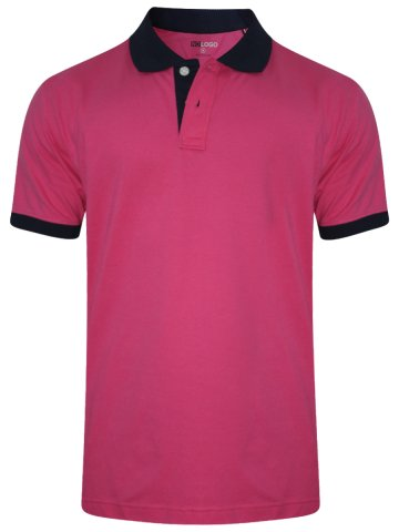 83f4a595 ... Pink Polo T-Shirt.  https://static4.cilory.com/294285-thickbox_default/nologo-