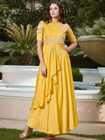 https://static8.cilory.com/307252-thickbox_default/aashi-yellow-gown-style-kurti.jpg