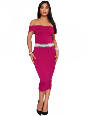 https://static2.cilory.com/316923-thickbox_default/rhinestone-waistband-fuchsia-off-the-shoulder-midi-dress.jpg