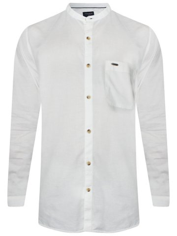 https://static1.cilory.com/323691-thickbox_default/peter-england-white-slim-fit-linen-chinese-collar-shirt.jpg