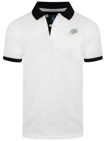 ced01129a3f  Slingshot White Polo T-Shirt With Black Collar.  https   static1.cilory.com 338485-thickbox default slingshot-
