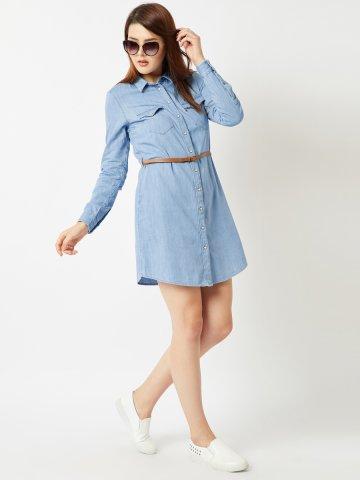 7475f8bcdec ... Denim Shirt Dress With Belt.  https   static7.cilory.com 350781-thickbox default levis-