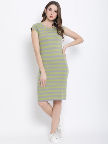 https://static2.cilory.com/384146-thickbox_default/green-and-grey-cotton-knitted-striped-dress.jpg