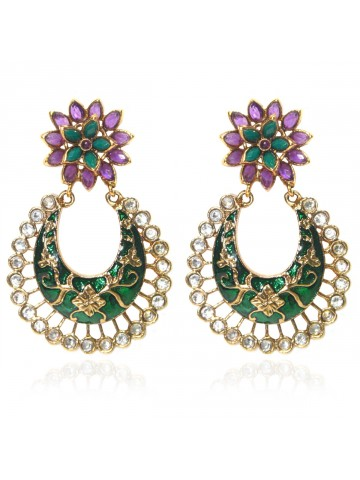 https://static4.cilory.com/39816-thickbox_default/elegant-polki-work-earrings-engraved-with-meena-and-beads.jpg