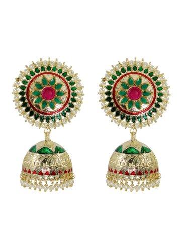 https://static9.cilory.com/407228-thickbox_default/golden-green-meenakari-work-earrings.jpg