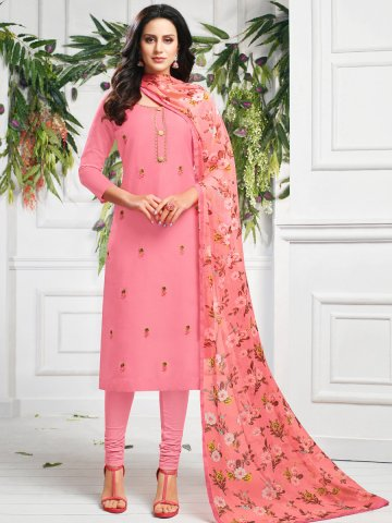 https://static3.cilory.com/407640-thickbox_default/pink-chanderi-cotton-semi-stitched-suit.jpg