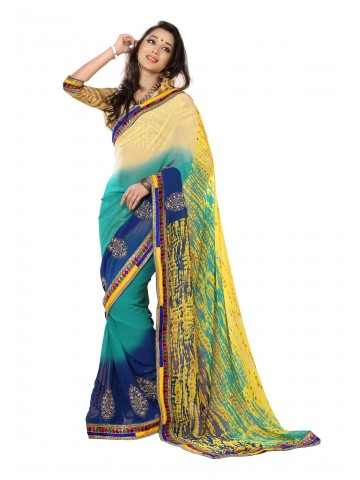 https://static6.cilory.com/87100-thickbox_default/fabdeal-georgette-embroidered-turquoise-yellow-saree.jpg