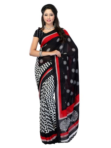 https://static2.cilory.com/89838-thickbox_default/jaipur-kurti-s-adorable-black-and-white-renial-saree-paired-with-blouse.jpg