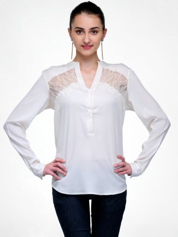 White Lace Top at cilory
