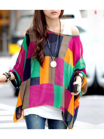 https://static1.cilory.com/98547-thickbox_default/colorful-irregular-plaid-larger-size-chiffon-top.jpg